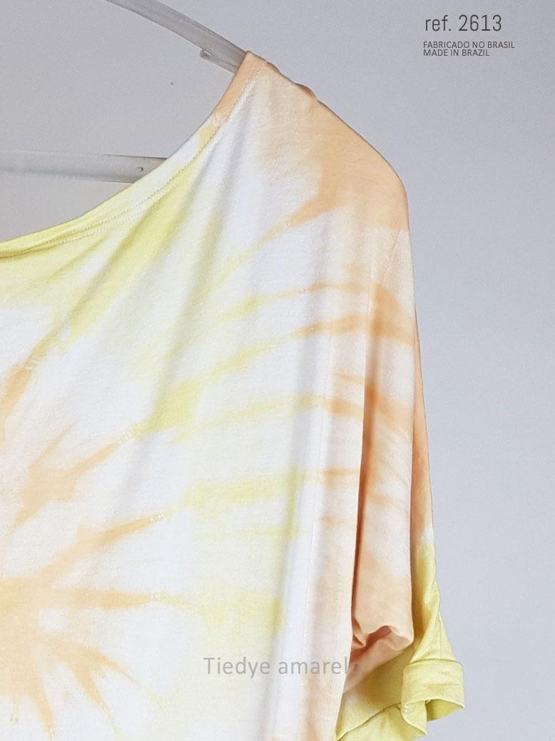 blusa tiedye amarelo laranja