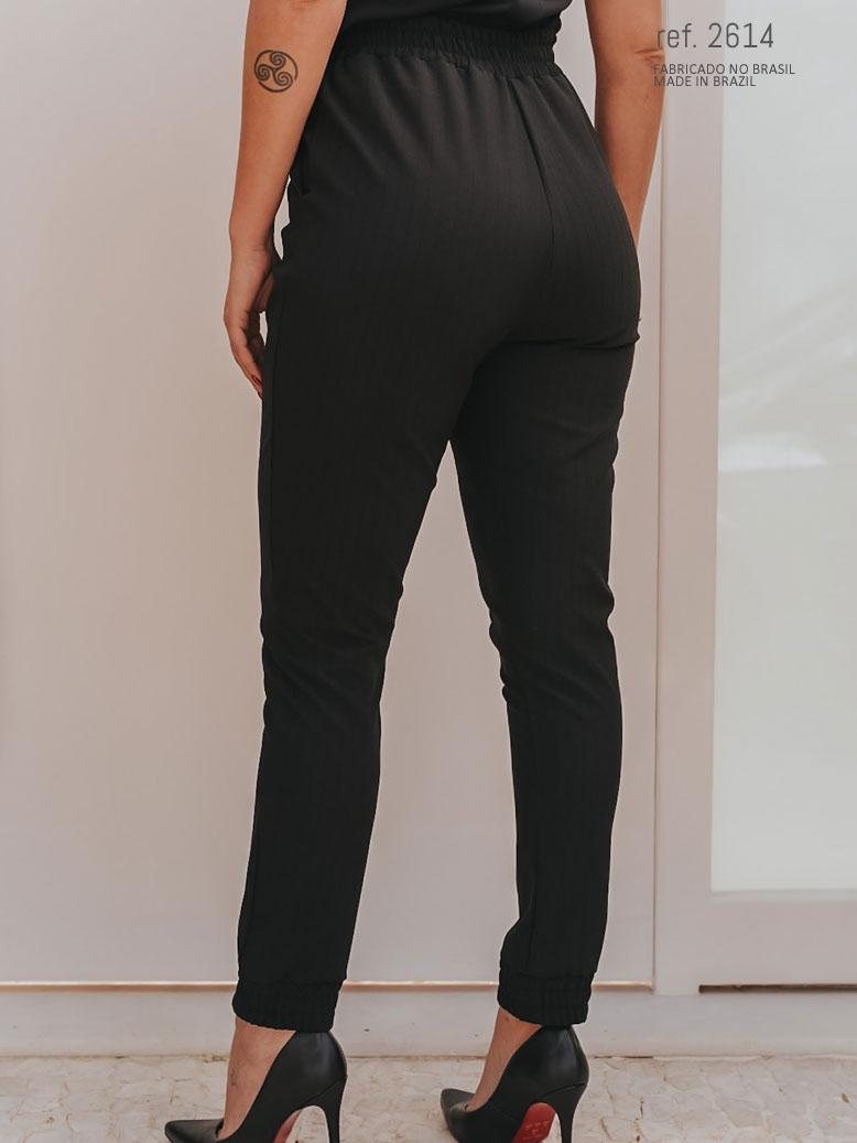 calça jogger preta