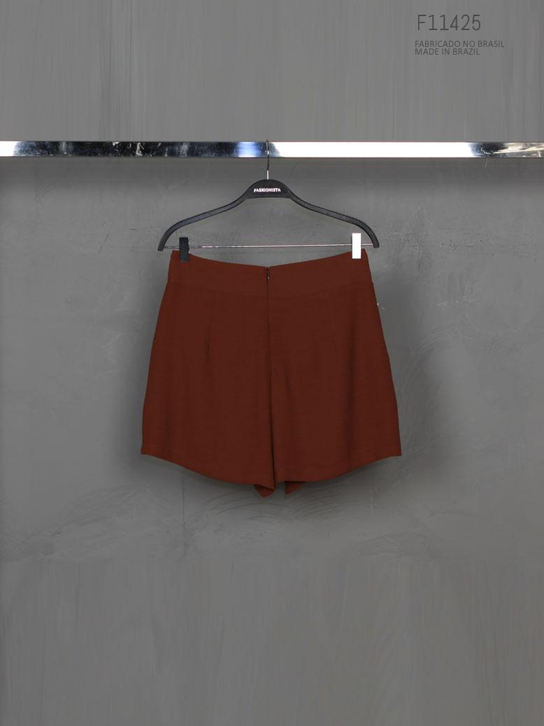 shorts com ziper