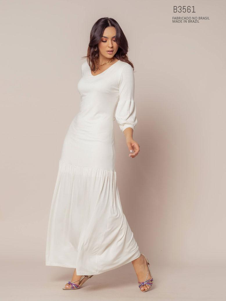 vestido da betsey branco
