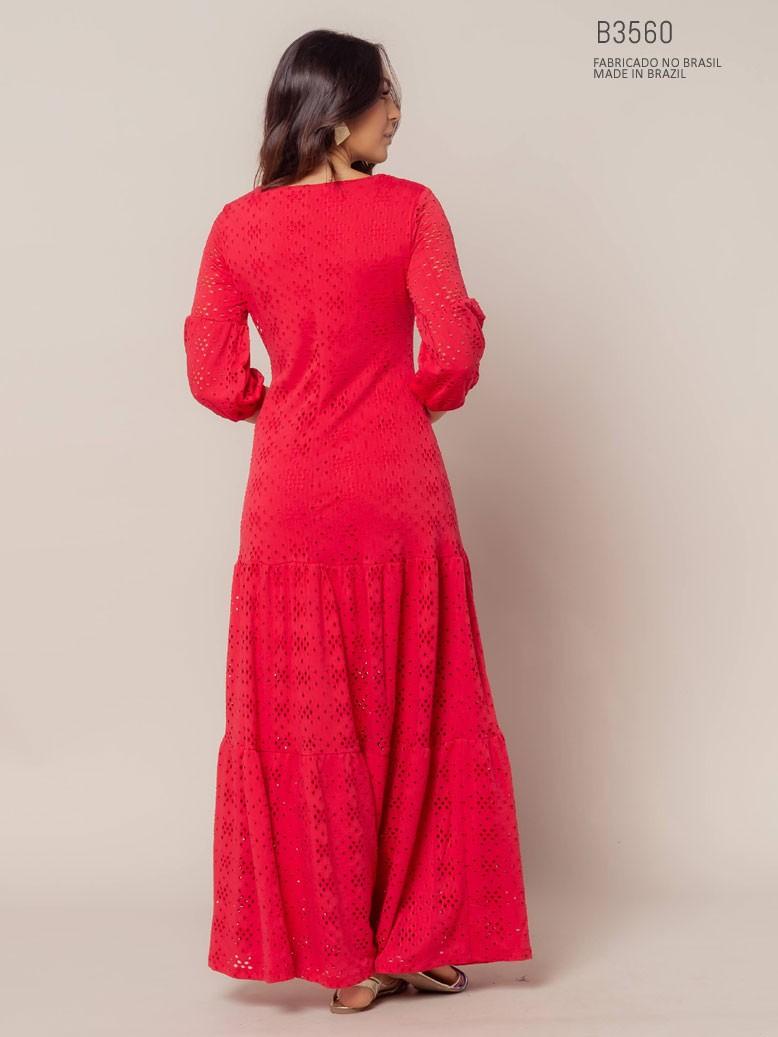 parte de trás do vestido