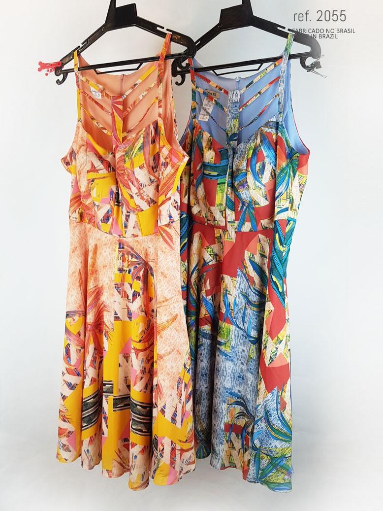Vestido curto para verão