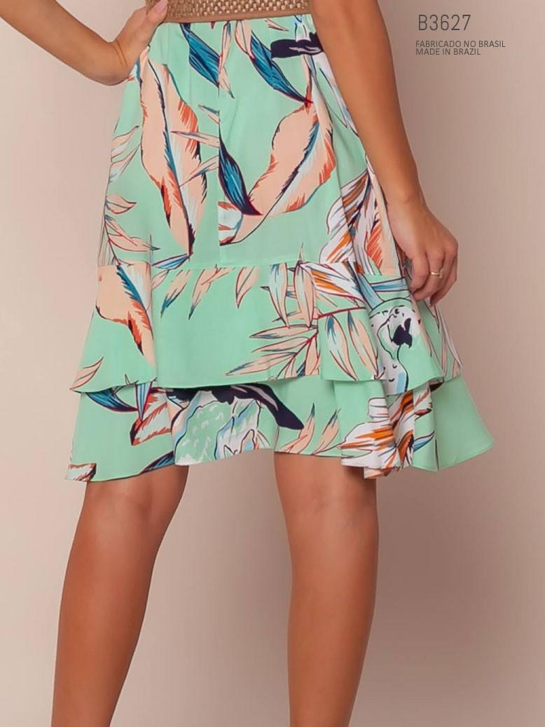 vestido na saia