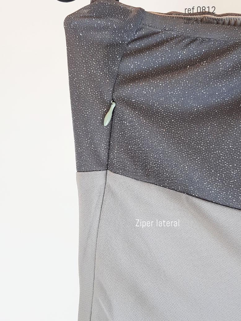 ziper lateral do vestido