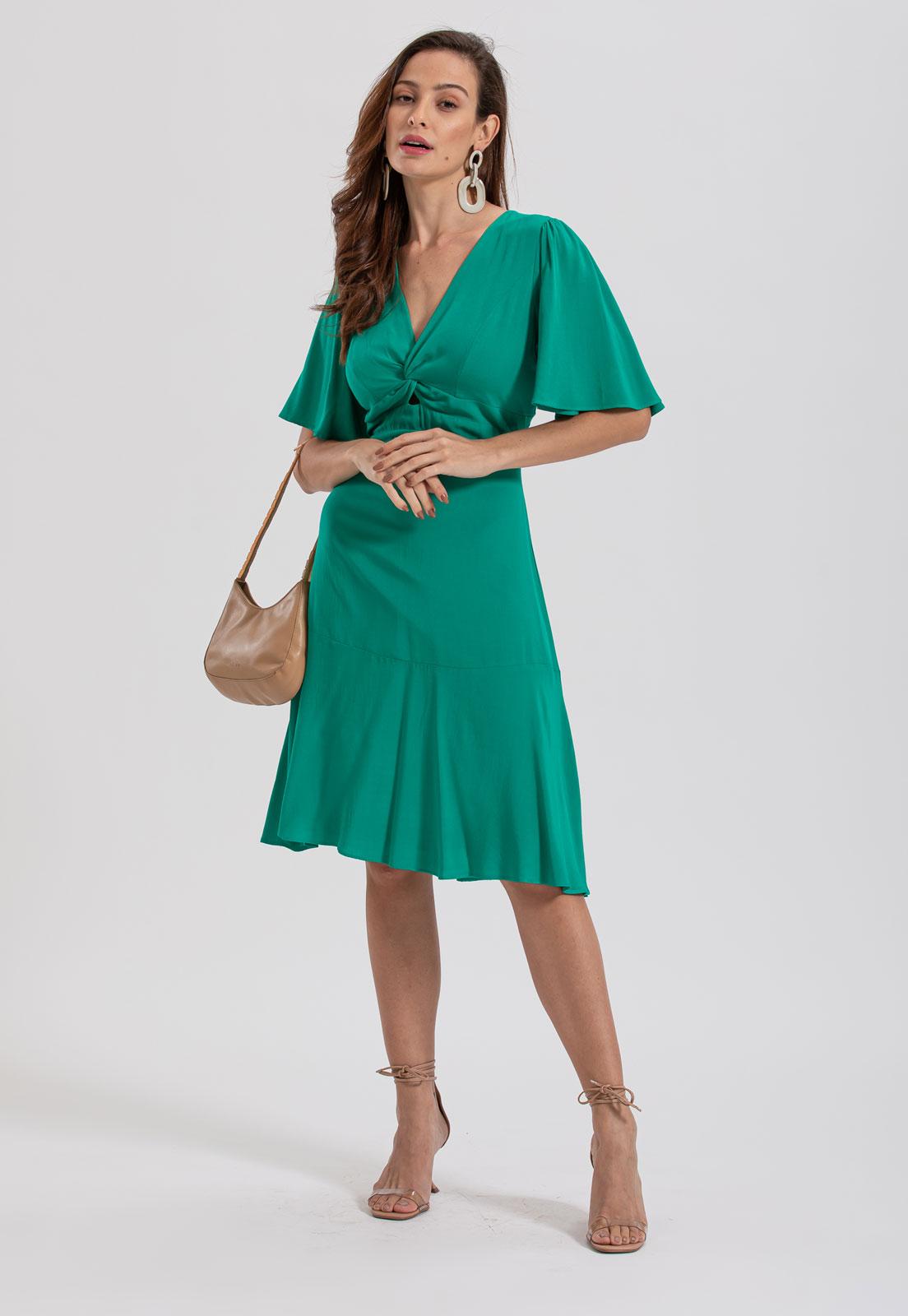 Vestido curto verde Ref. 2645