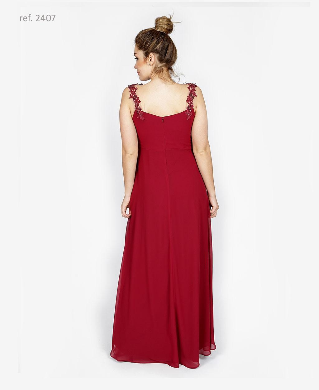 vestido com bordado