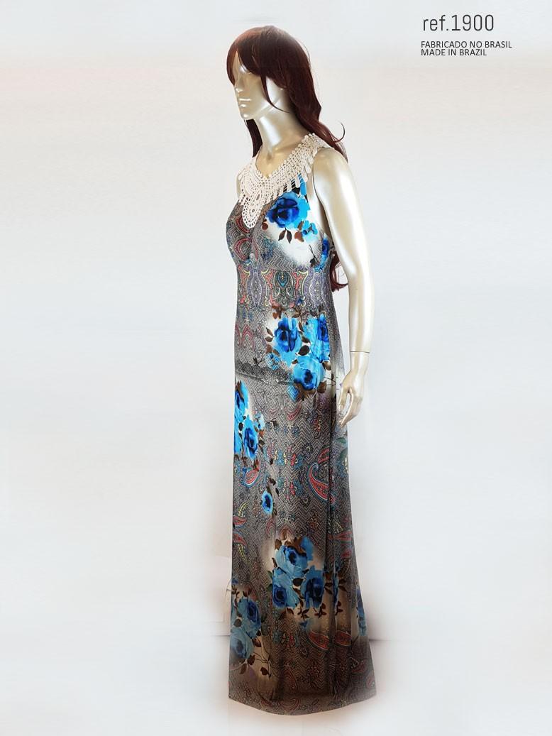 vestido sem manguinha