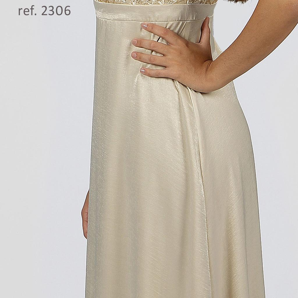vestido boradado