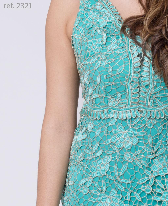 vestido guippir