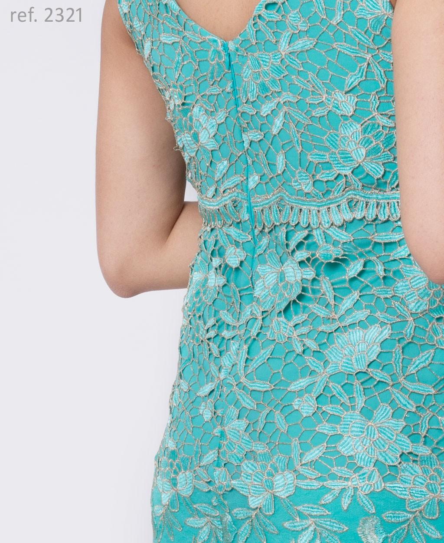 vestido guippir tiffany