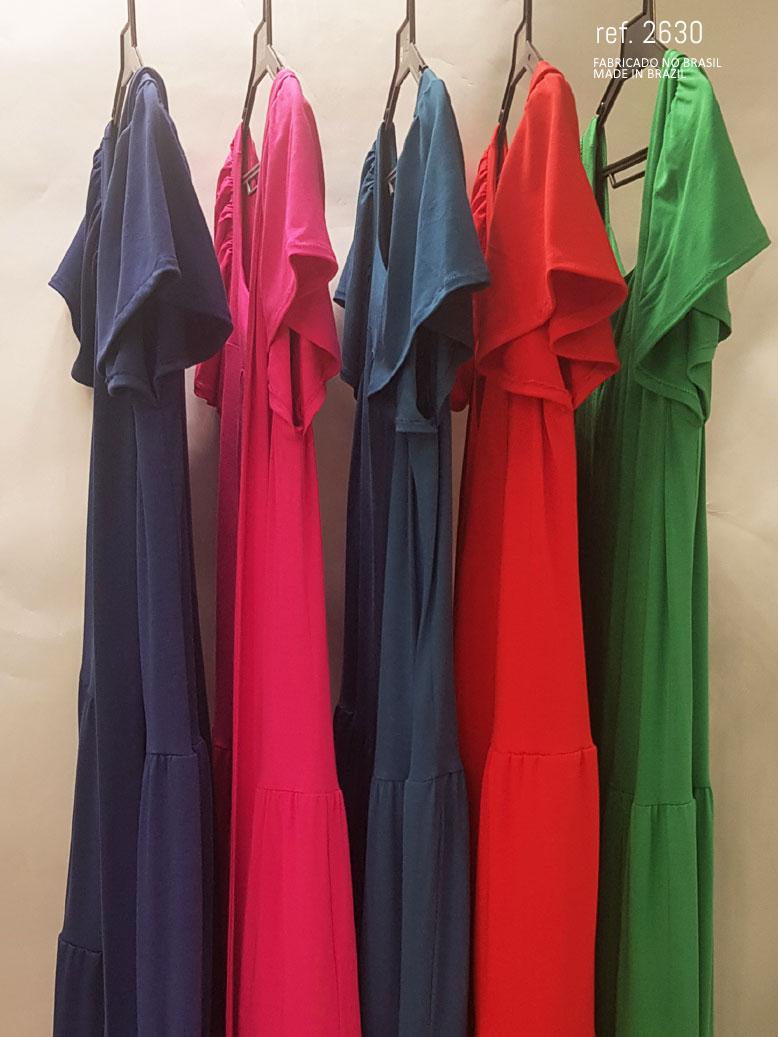 vestidos de varias cores