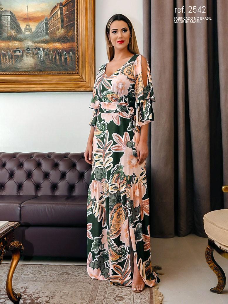 vestido de festa cetim