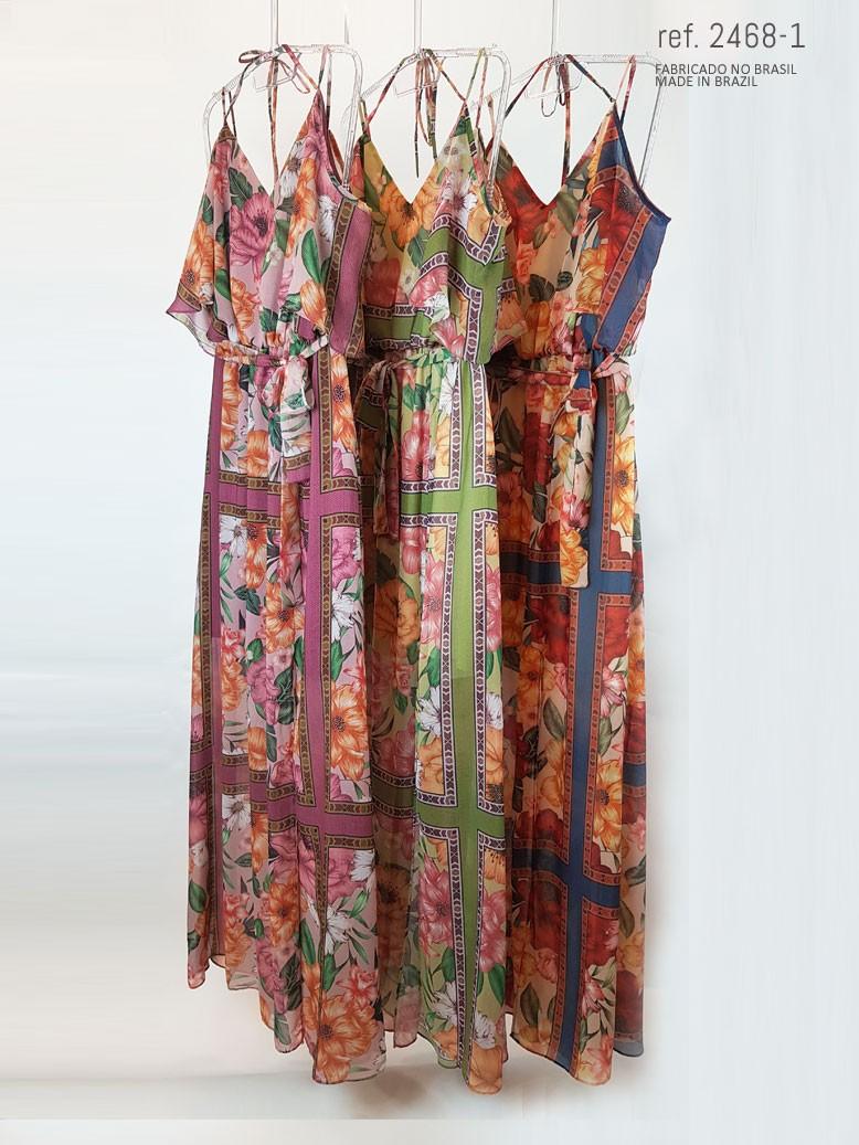 Vestido longo para verão