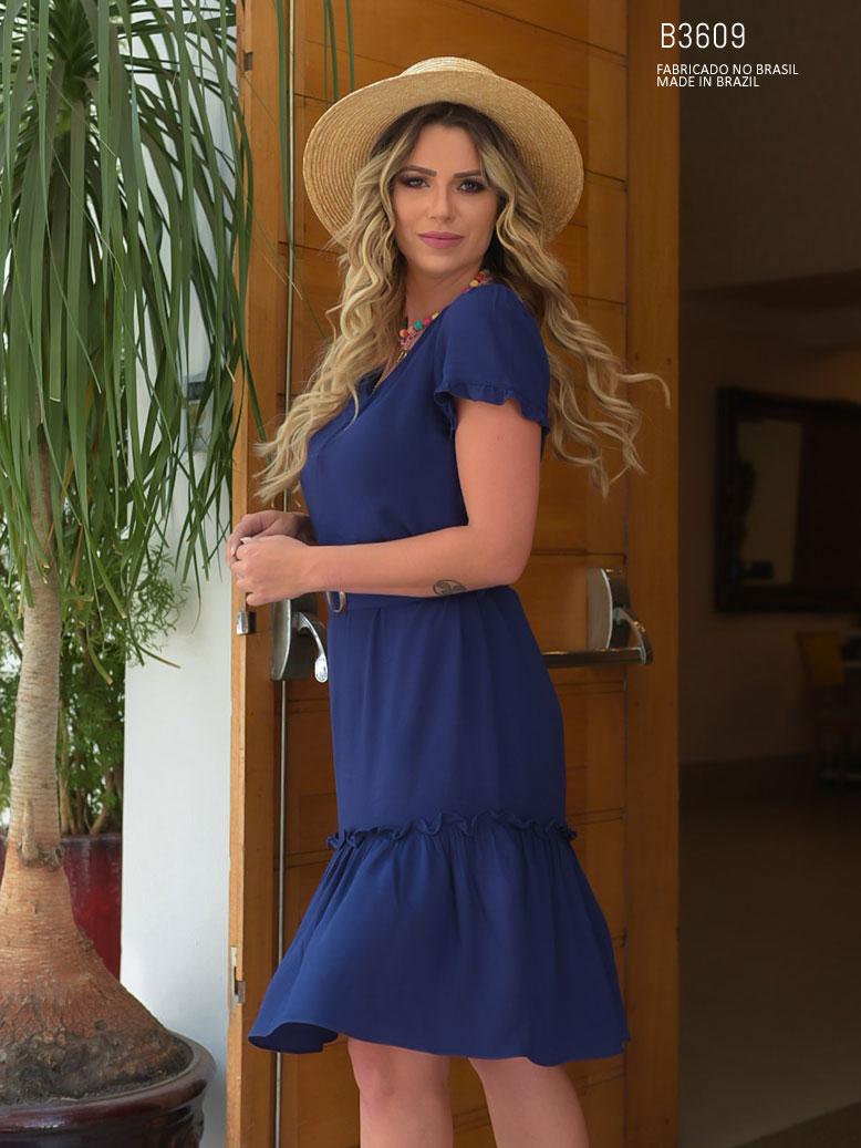 vestido decotado