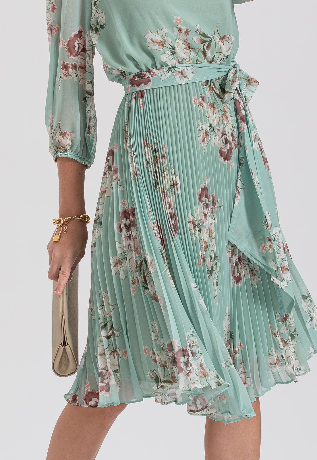 vestido de casamento estampado
