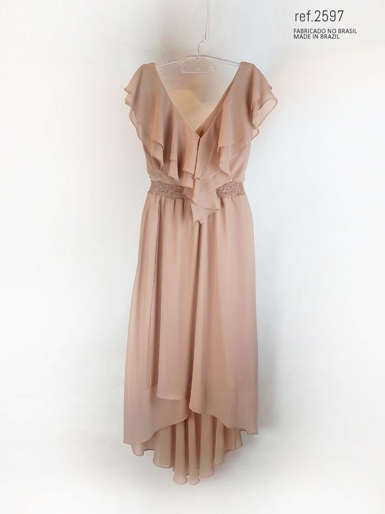 vestido frente
