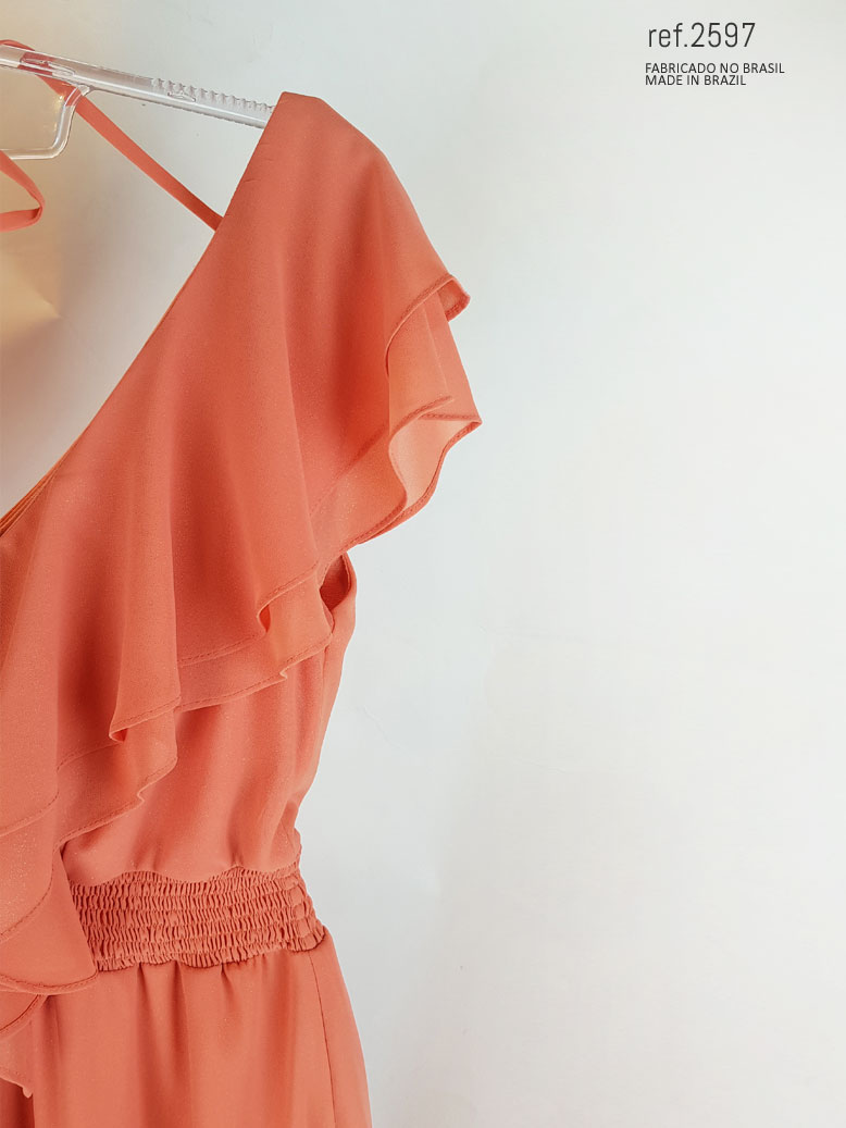 vestido coral para comprar