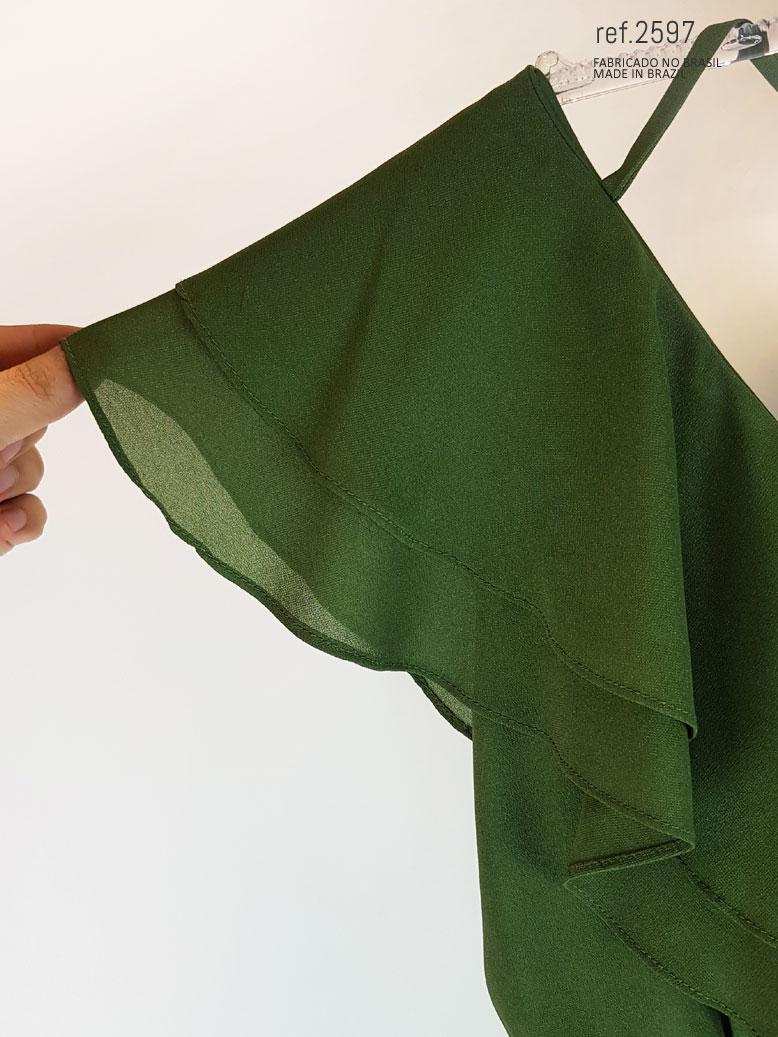 vestido para comprar verde