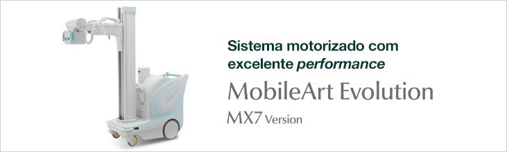 RAIO X MÓVEL MOTORIZADO - MOBILEART EVOLUTION MX7 VERSION - SHIMADZU