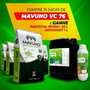 Compre 10 sacas Mavuno VC76 5Kg  e GANHE 25L Pastotal Nitro+ e 1L Adjuvant