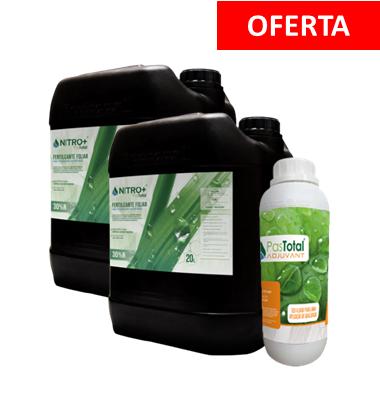 COMBO 40L Fertilizante Pastotal Nitro + 1L Adjuvante