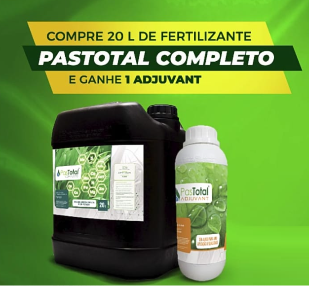 Compre 20L Fertilizante Pastotal Completo GANHE 1L Adjuvant