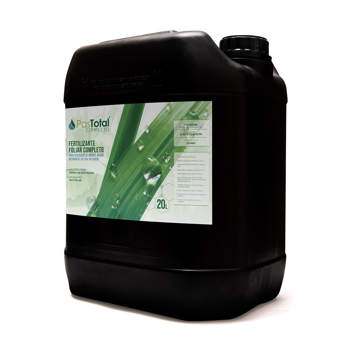 Fertilizante Foliar Para Pasto 20 Litros Pastotal Completo