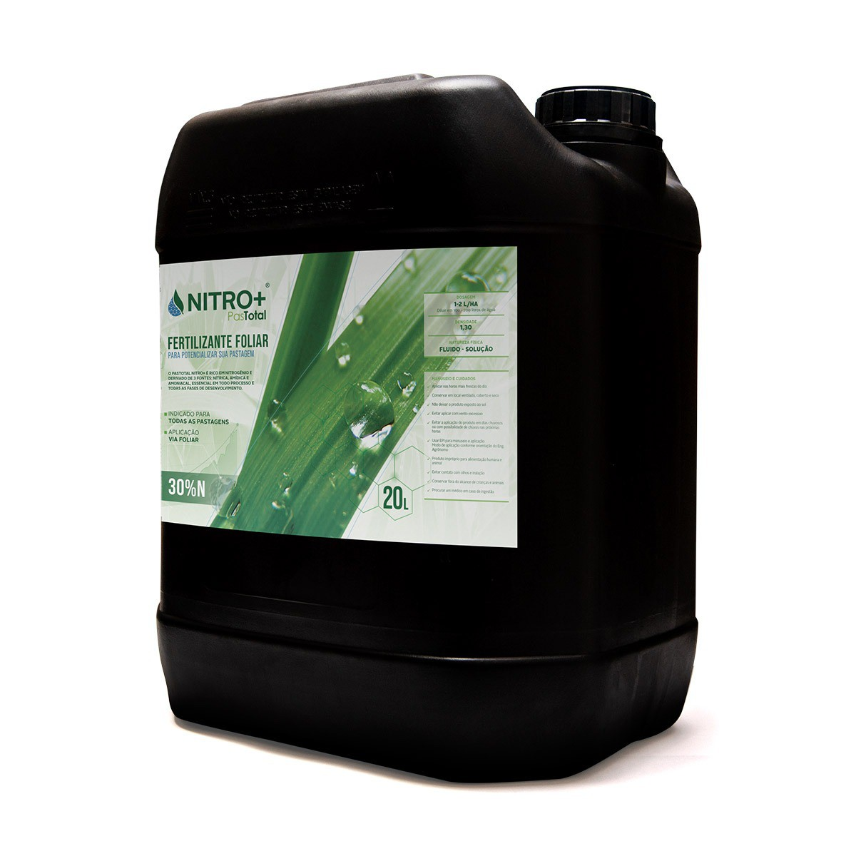 Fertilizante Foliar Para Pasto Pastotal Nitro+ 20L