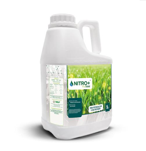 Fertilizante Foliar Para Pasto Pastotal Nitro+ 5L