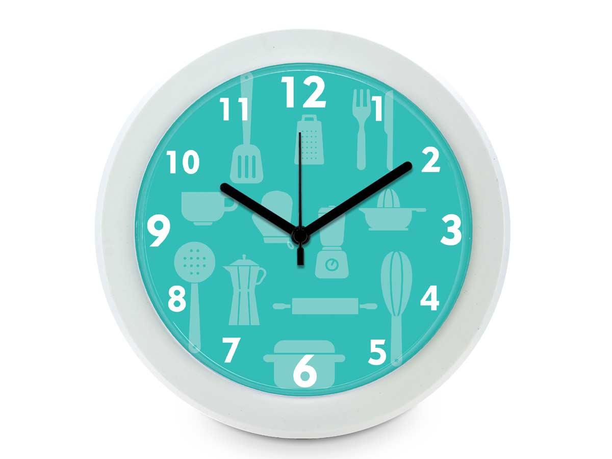 Relógio de parede cozinha 24 cm
