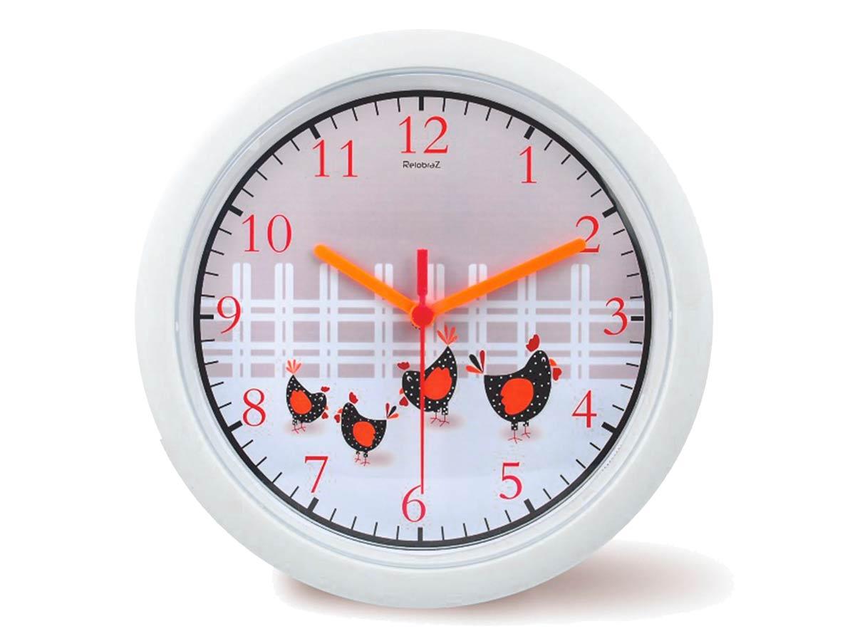 Relógio de Parede Cozinha Galinha 30 cm
