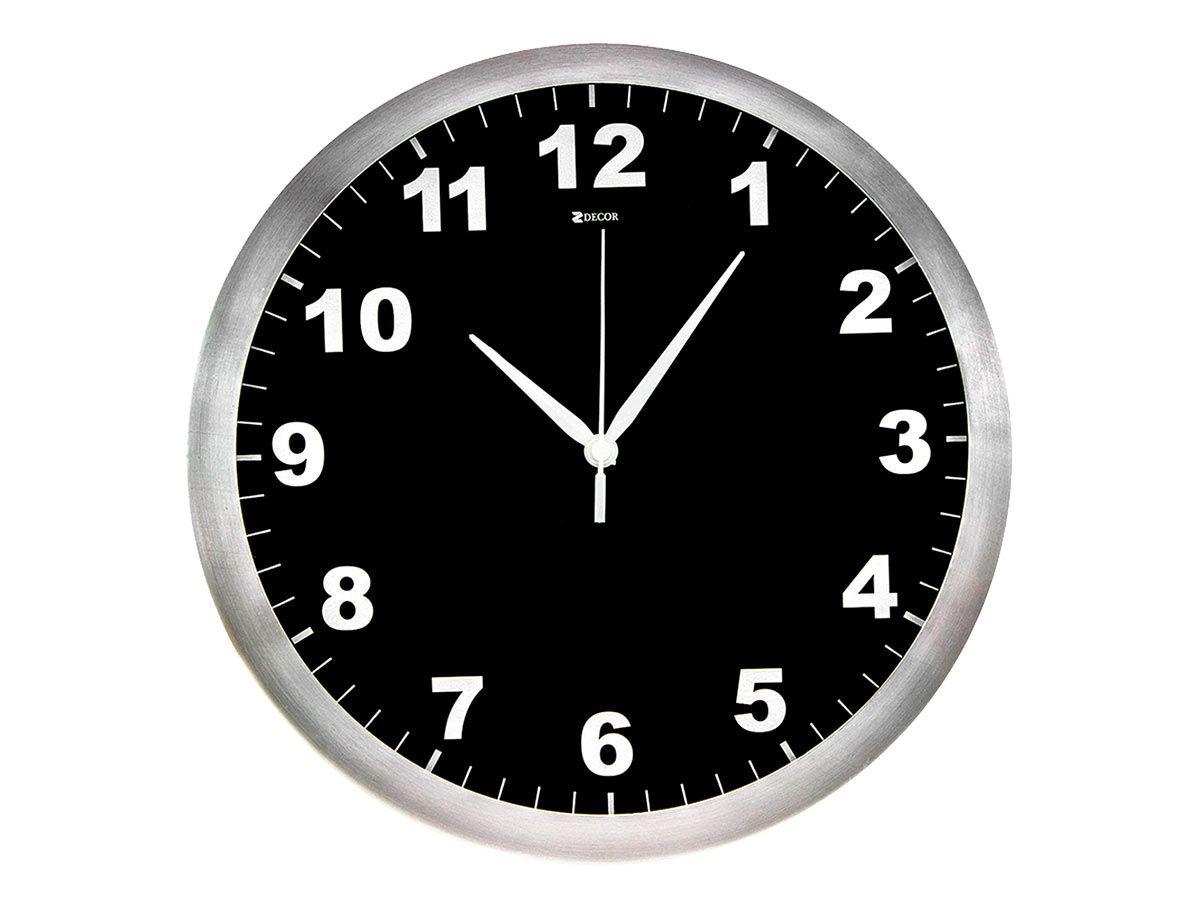 Relógio de parede Decorativo para Sala - 35,5 cm