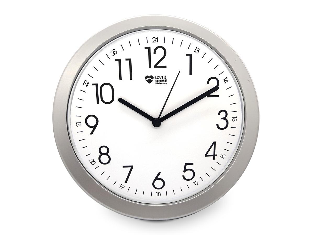 Relógio de Parede Silencioso