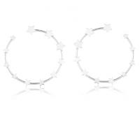 Brinco Argola Constelação Prata 925
