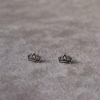 Brinco Mini Coroa Princess