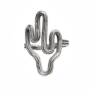 Anel Cactus Rústico