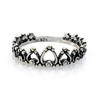 Anel Coroa Pétalas
