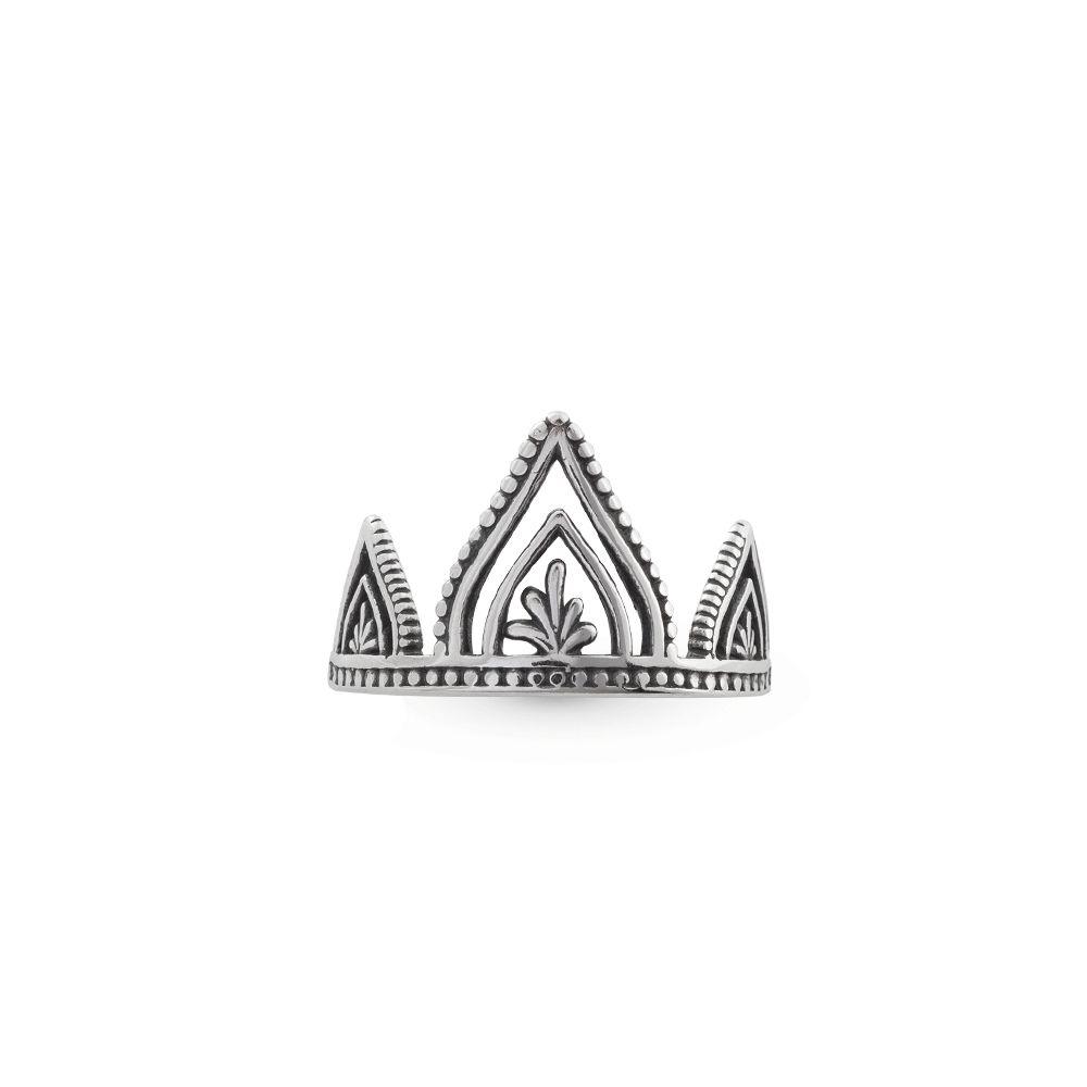 Anel Indianos Pétalas Prata 925