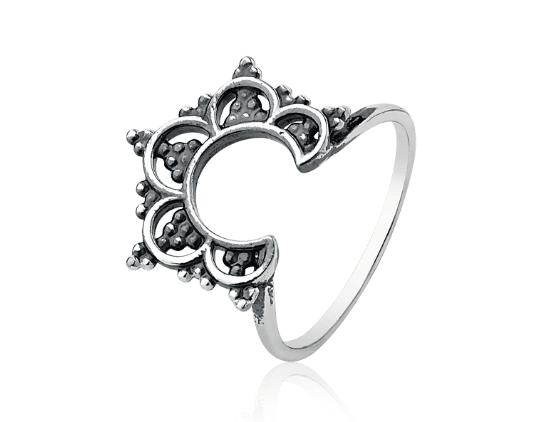 Anel Mandala Flor
