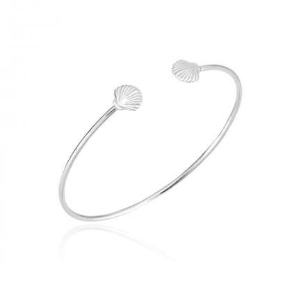 Bracelete Conchinhas Prata 925