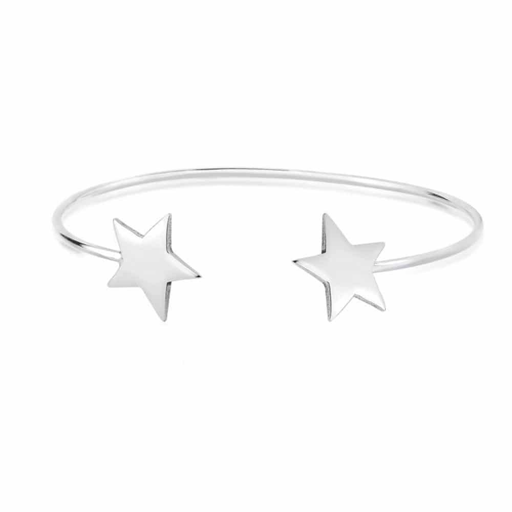 Bracelete Duas Estrelas