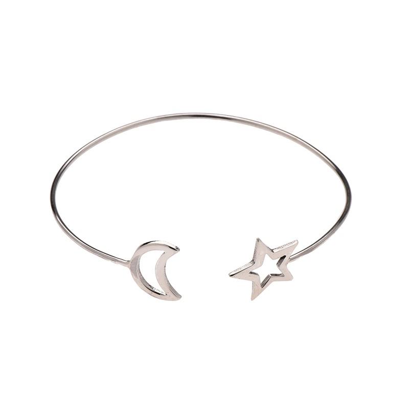 Bracelete Lua e Estrela