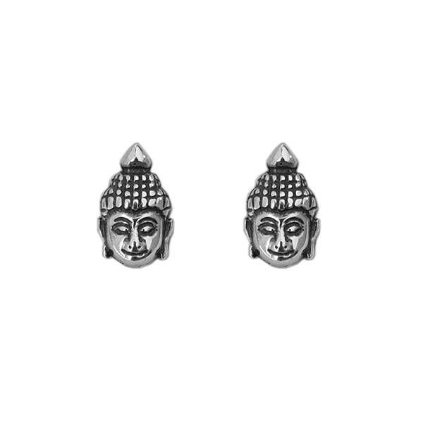 Brinco Buddha Prata 925