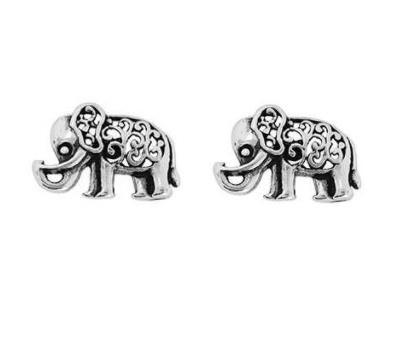 Brinco Elefante Índia Prata 925