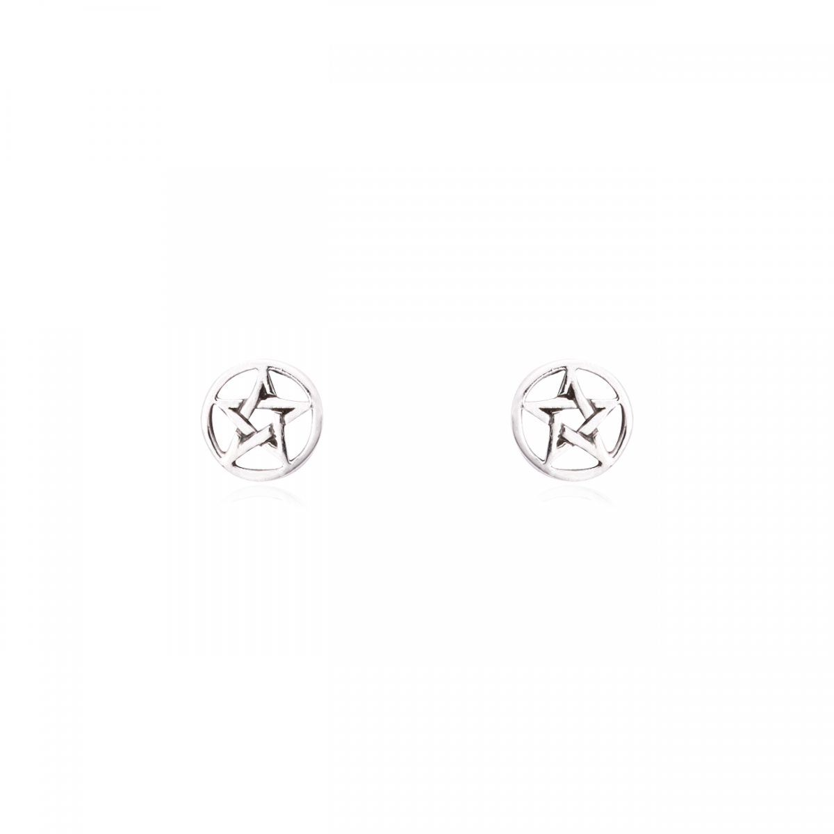 Brinco Estrela Pentagrama