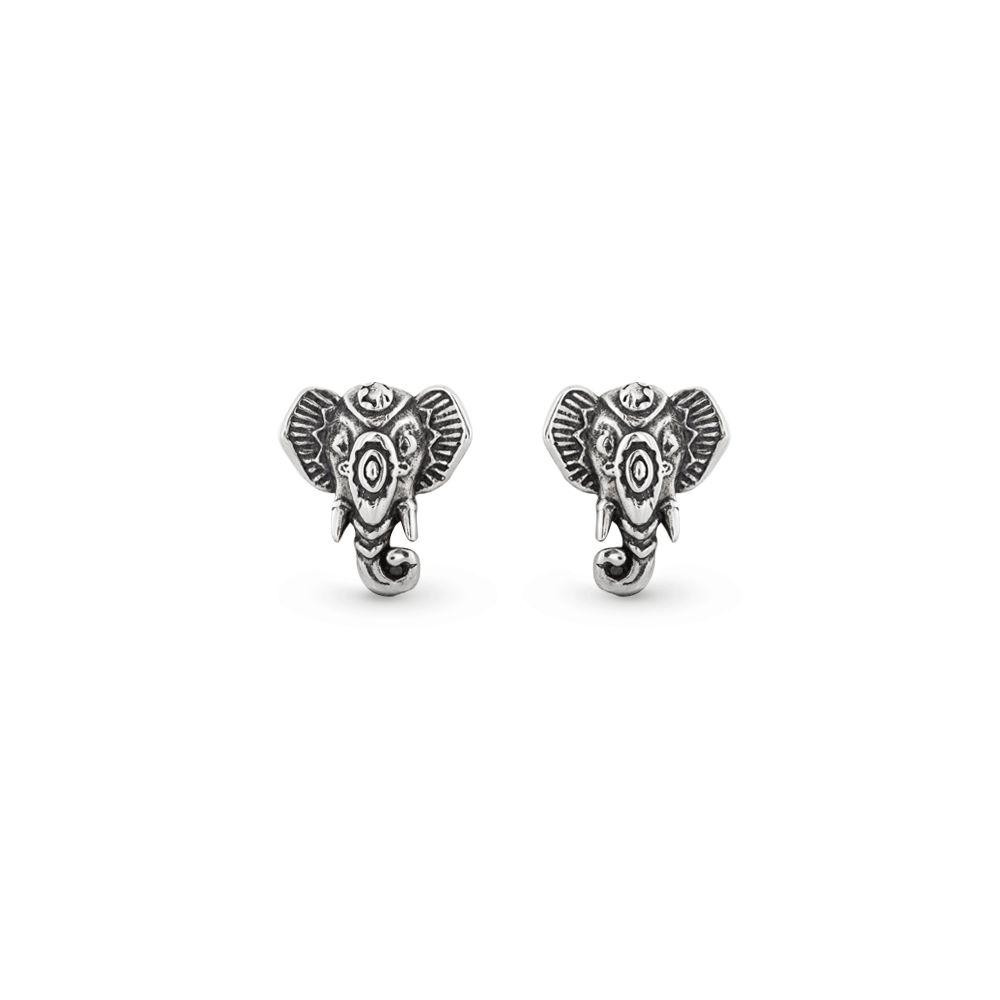 Brinco Ganesha Prata 925