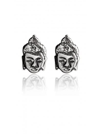 Brinco Mini Cabeça Buda