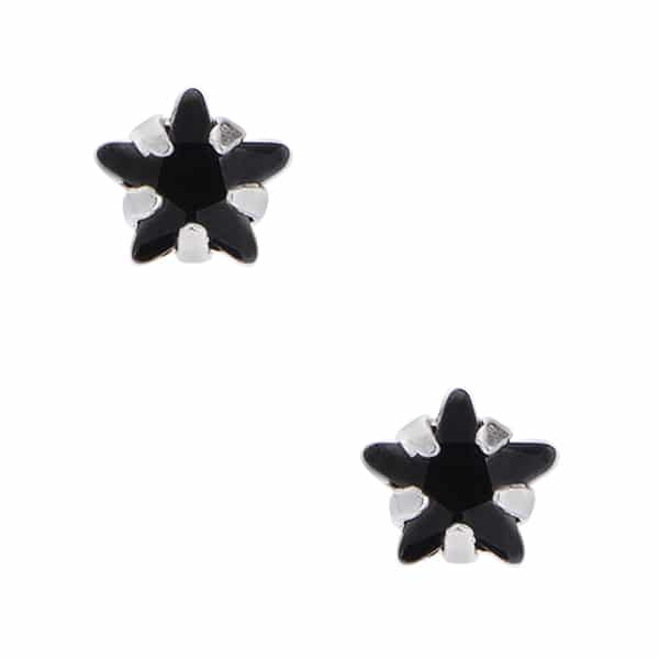 Brinco Mini Estrela Negra