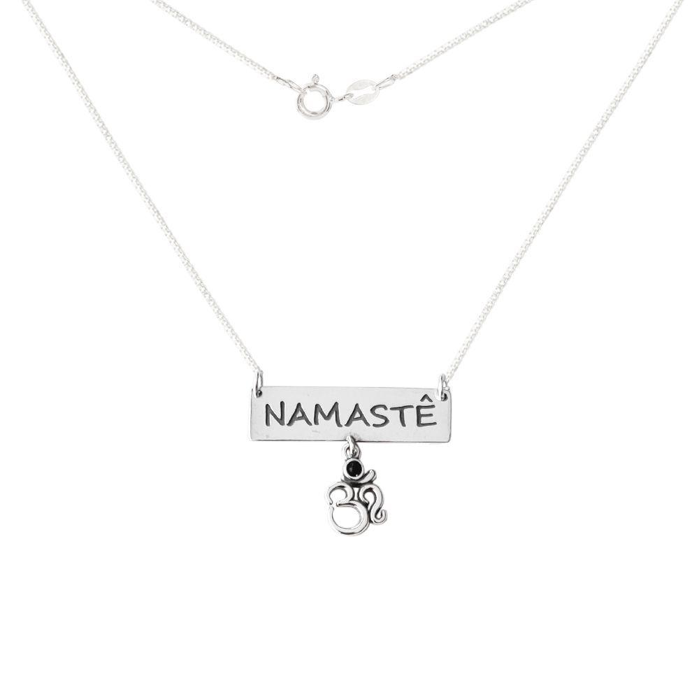 Colar Namastê Om