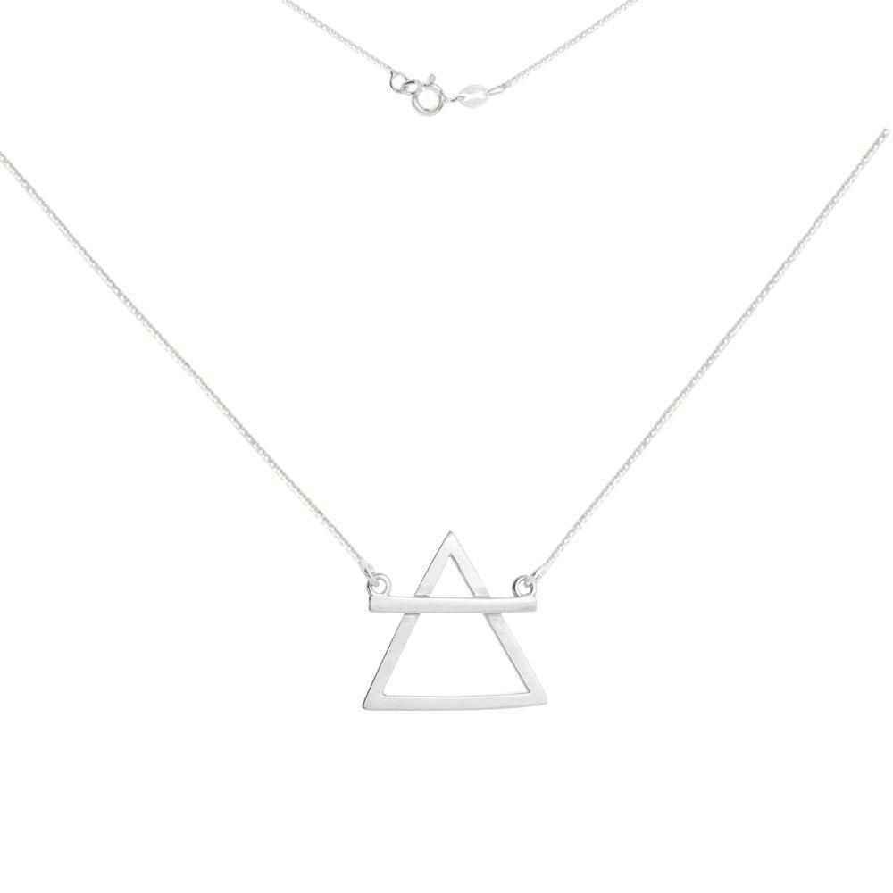Colar Triângulo Simbolo Ar